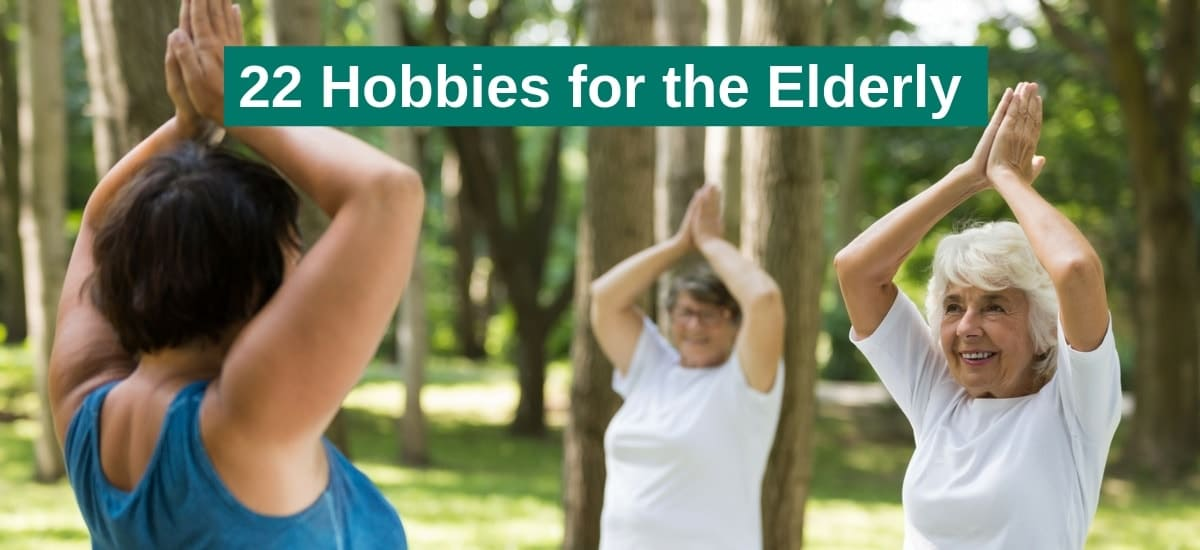 good hobbies for the elderly