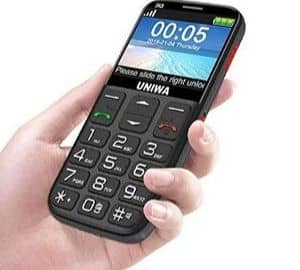3g Big Button Mobile Phone for Elderly
