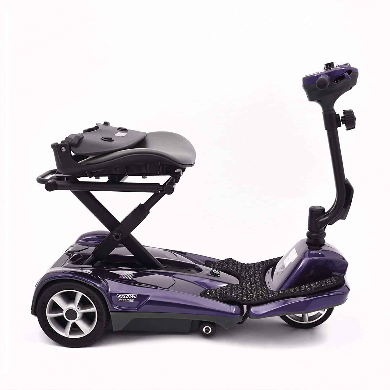 Ability Superstore Lightweight Curlew Automatic Folding Mobility Scooter