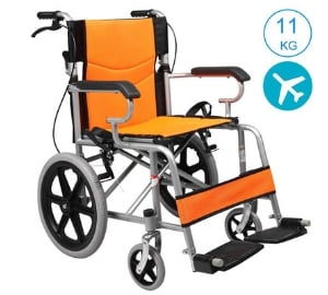 Aceda Medical lightweight expedition transport wheelchair