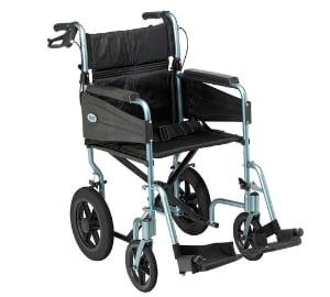 Aluminium Transport chair lightweight wheelchair