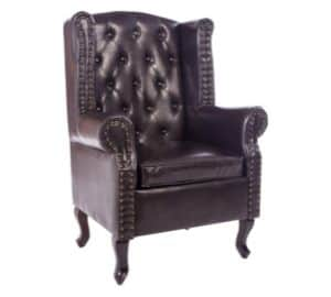 Armchair Queen Anne Fireside Chair
