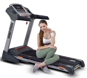 Branx Fitness Foldable 'Elite Runner Pro' Soft Drop System Treadmill