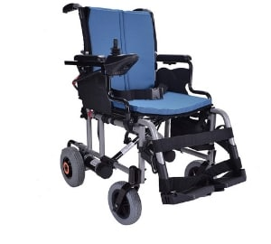 Breeze Folding Lightweight Electric Wheelchair