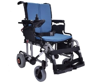 Breeze folding lightweight electric wheelchair powerchair