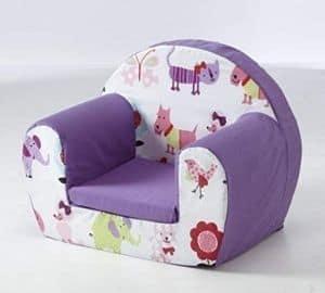Children's arm chair seat