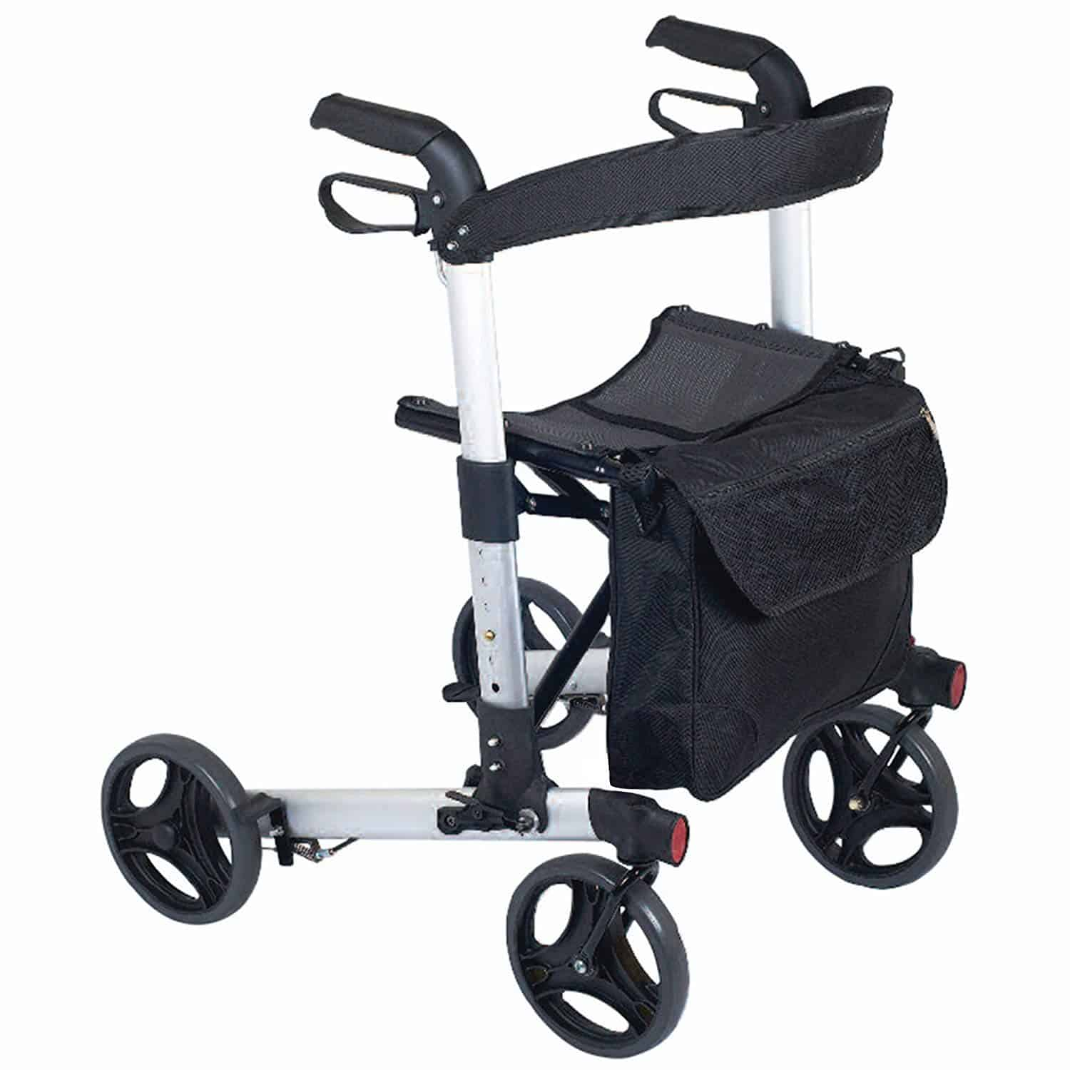Compact Easy Rollator Wheeled Walking Aid