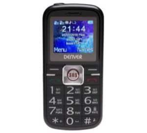 Denver BAS-18250M Senior Large Mobile Phone - Black