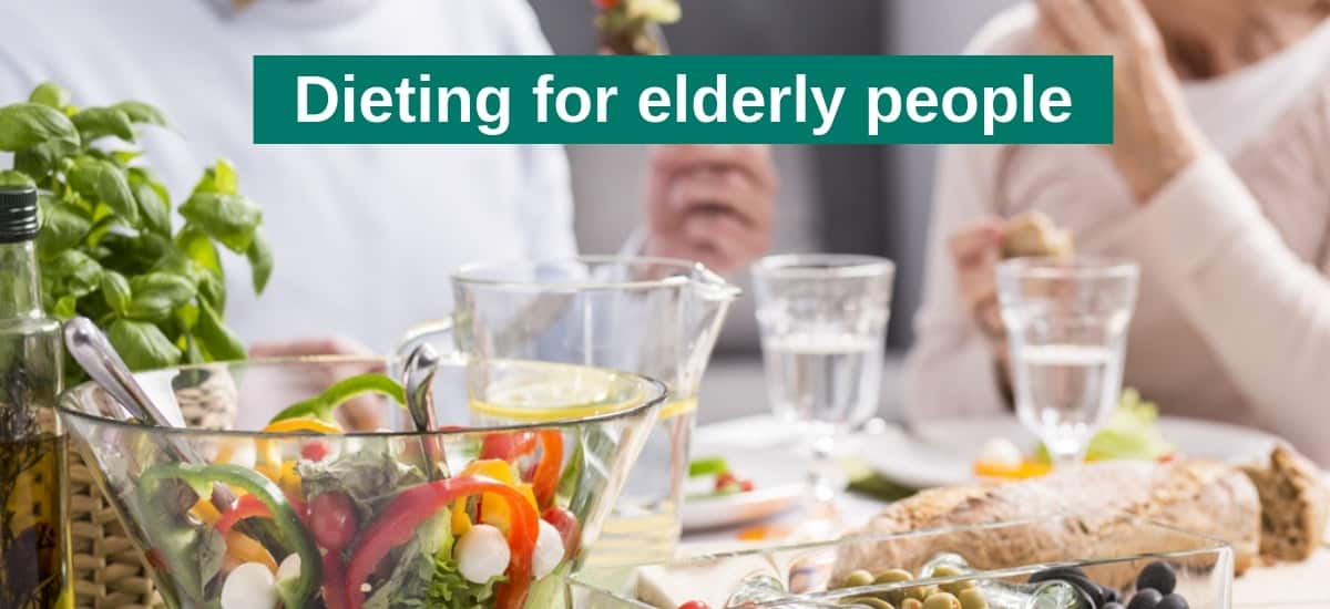 Dieting for elderly people