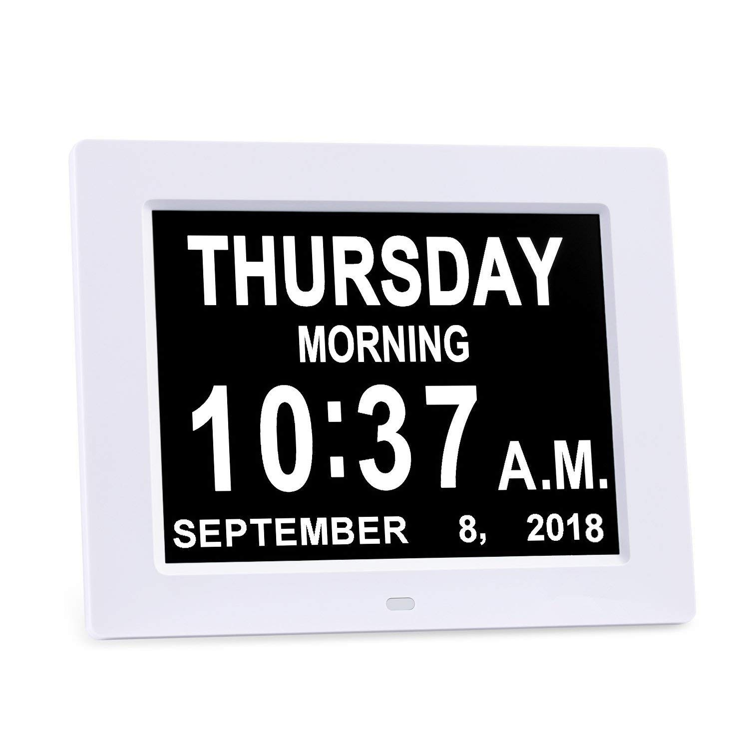 Digital Calendar Day Clock,Alarm Clock - Memory Loss Day Clock