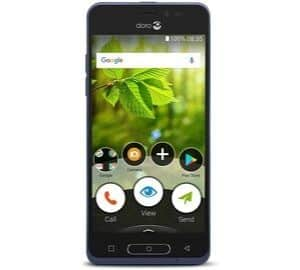 Doro 8035 Unlocked 5 MP Camera Smartphone