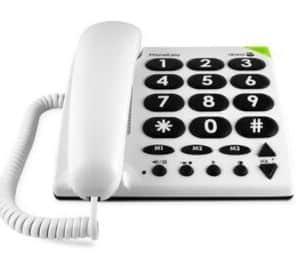 Doro PhoneEasy 311c Big Button Corded Telephone