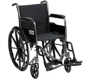 Drive Self Propel Silver Sport Wheelchair