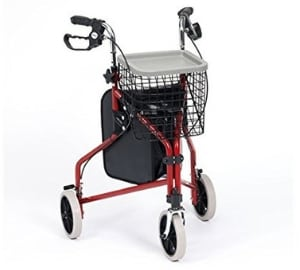 Drive Steel Tri-Walker with Vinyl Bag