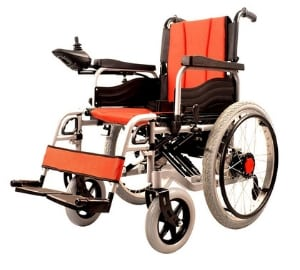 Dual Function Foldable Power Wheelchair