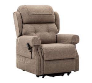Dual motor riser recliner mobility chair