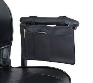Ducksback Mobility Scooter/Wheelchair armrest Bag