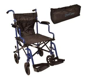 Fantastic lightweight Folding Travel Wheelchair