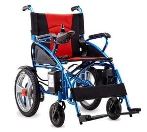 Foldable Lightweight Electric Power Wheelchairs
