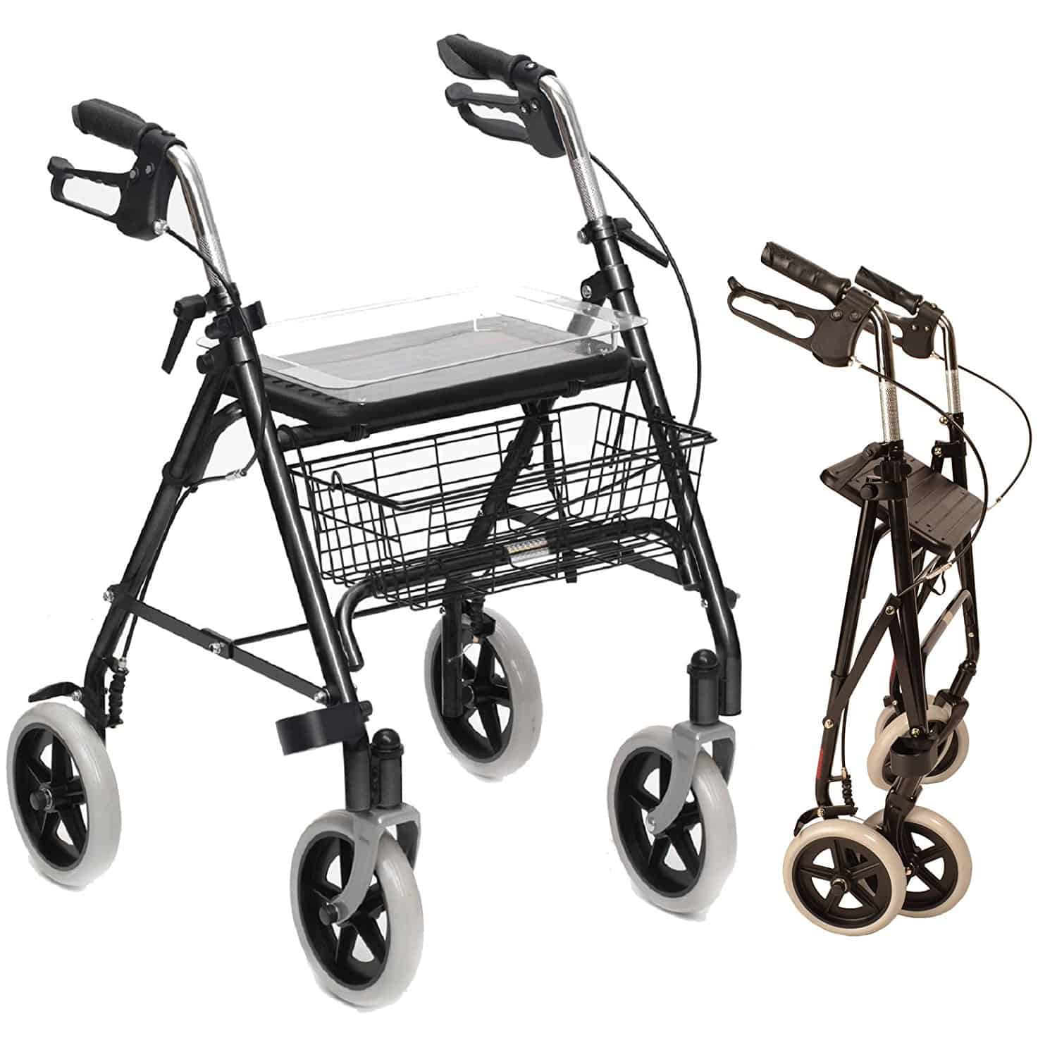 Folding Lightweight Rollator walking frame
