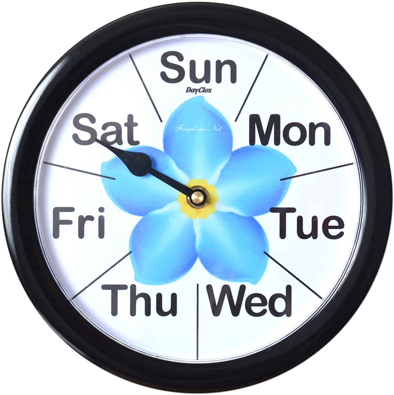 Forget-Me-Not Day Clock