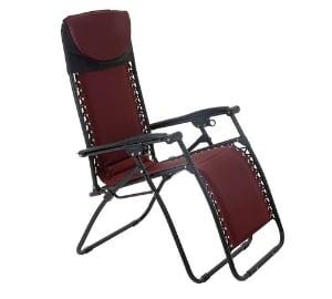Garden Reclining Relaxer Lounge Lounger Chair