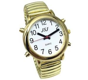 Golden Color English Talking Watch