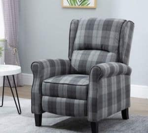 HUISEN furniture Comfy Recliner Armchair