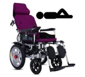 Heavy-duty electric wheelchair