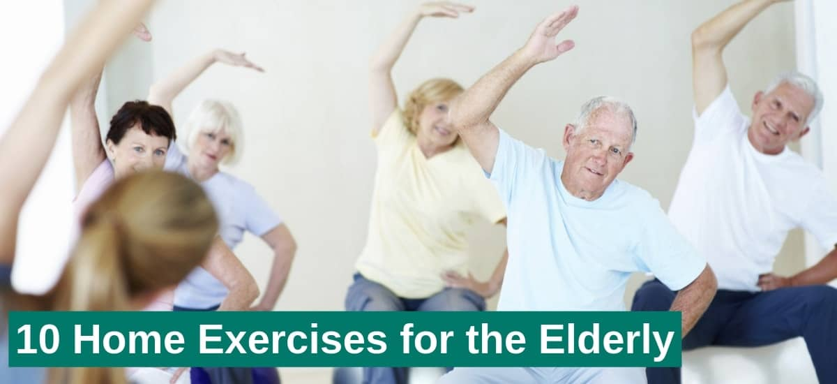 home exercises for arms for elderly,