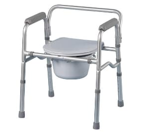 Lightweight commode