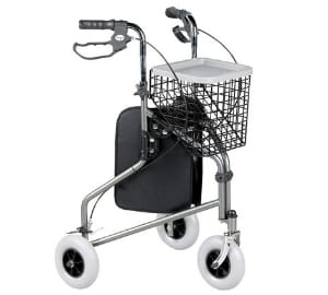Homecraft Folding Three Wheeled Rollator