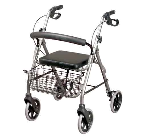Homecraft Four Wheeled Rollator Walker
