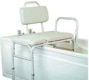 Homecraft Padded Bath Transfer Bench, Bath Chair, Transfer Aid, Elderly
