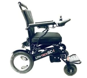 folding electric wheelchair uk