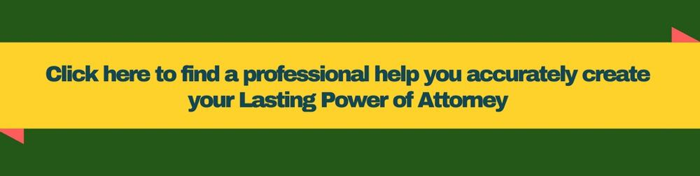 Lasting power of attorney professionals
