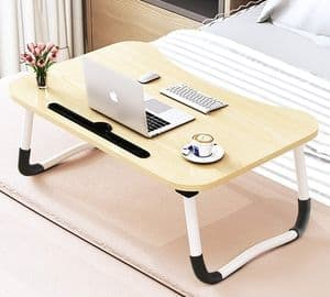 Large Foldable Bed Tray Lap Desk