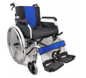 Lightweight Aluminium Folding self Propel Wheelchair