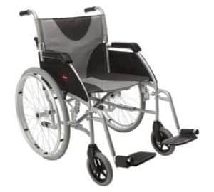Lightweight Enigma Self-Propelled Wheelchair