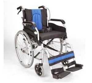 Lightweight folding self propel wheelchair