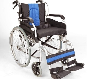 Lightweight folding self propel wheelchair