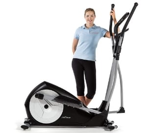 Compact cross trainer
