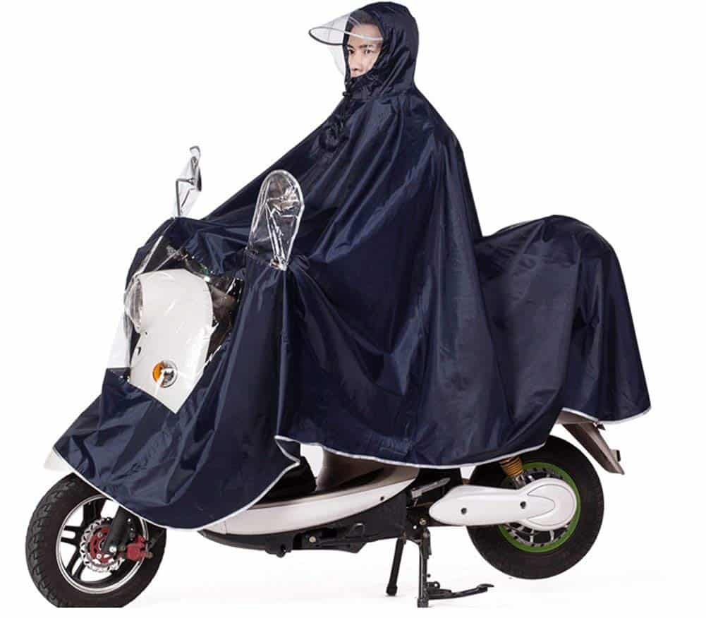 Mobility Scooter Motorcycling Rain Cape Jacket Cover