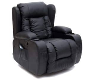 More4Homes Chester Heated Massage Recliner