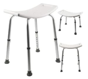 MultiWare Bath Stool Aluminium Shower Seat