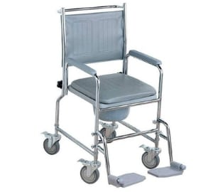 NRS Healthcare M66119 Wheeled Commode