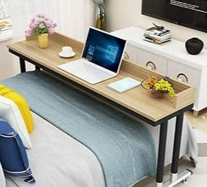 Overbed Table on Wheels