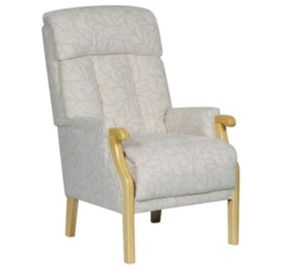 Oyster Aster Fireside Chair