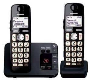 Panasonic KX-TGE722EB Big Button DECT