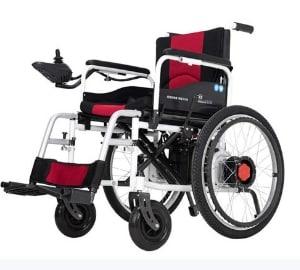 RDJM Dual Function Foldable Power Wheelchair